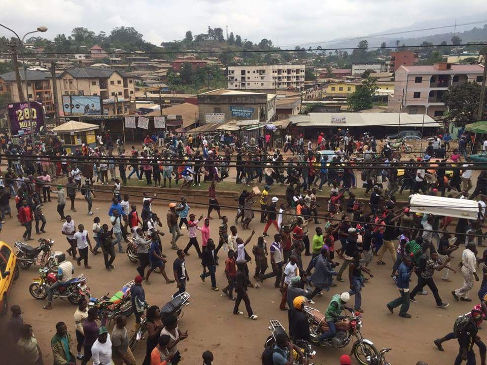 Demonstrations in Cameroon: Anglophones response to their